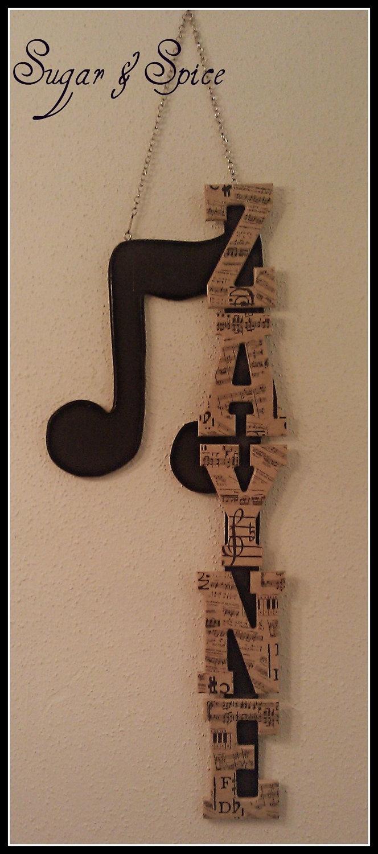 8 best aj tuba images on pinterest music musical instruments black tan music themed children s name hangings wall art letters 5 50