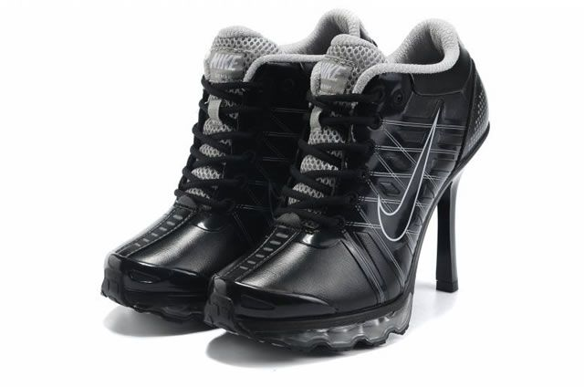 2012 New Women Nike High Heel Sneaker Boot Shoes -02