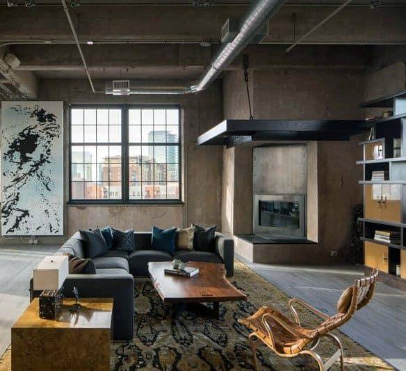 Top 50 Best Industrial Interior Design Ideas Raw Decor Inspiration In 2020 Industrial Interior Design Industrial Home Design Vintage Industrial Decor Bedroom