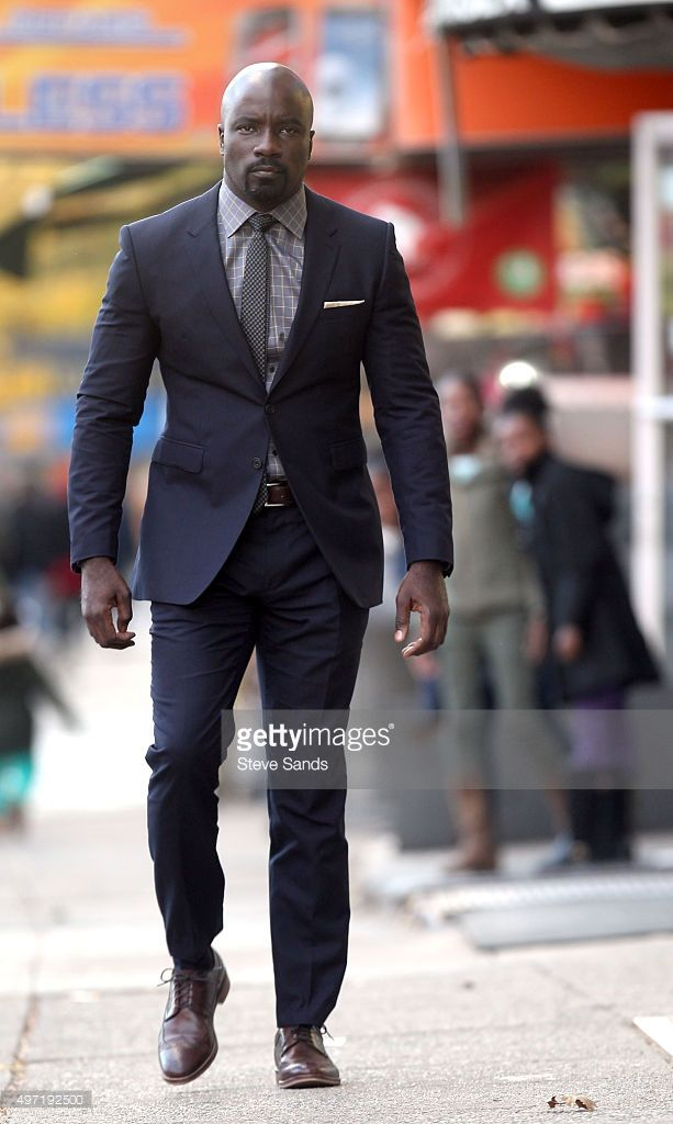 Mike Colter Dresses Up In New LUKE CAGE Set Photos