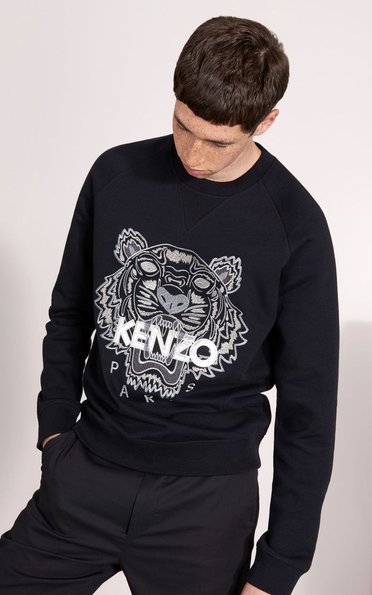 Tiger Christmas Sweat-shirt, KENZO