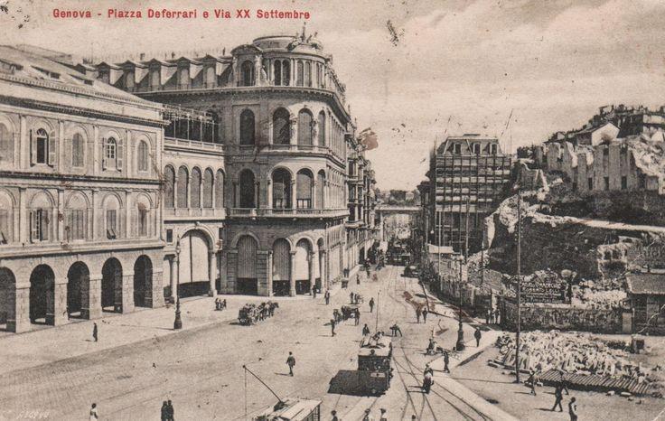 """Abbiamo visto la costruzione della """"strada Carlo Felice"""" e dell'omonimo teatro. Siamo alla fine del 1800 , tempo di grandi lavori e ....."""