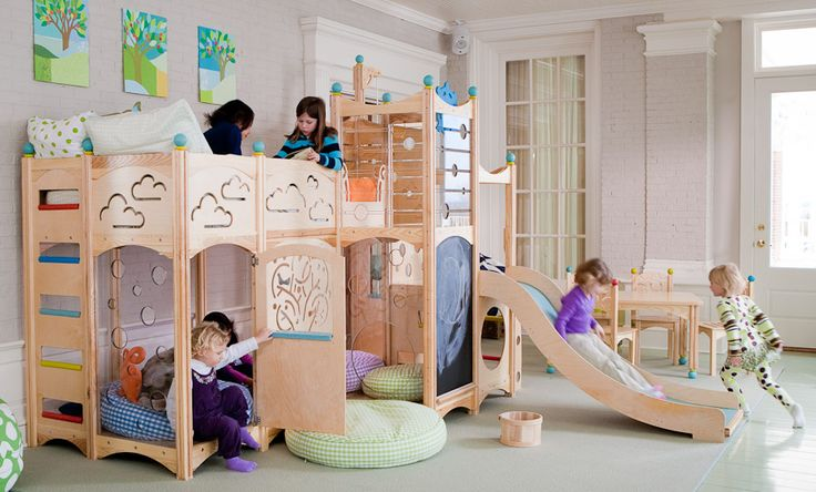 Indoor Playground - You wouldn't need any other toys in your playroom with this!