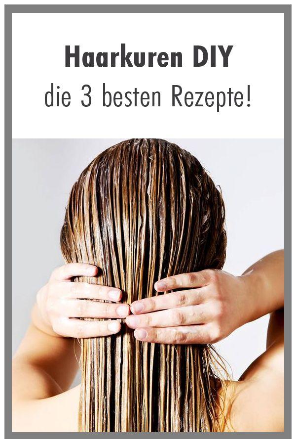 Haarkur Diy Die 3 Besten Rezepte Haare Hair Haircare Haarkur