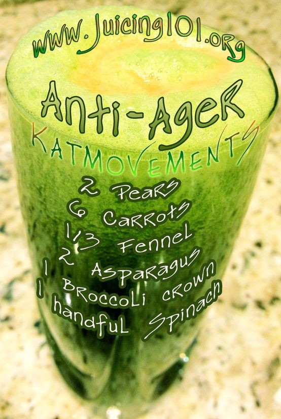 Look Younger : 10 Great Anti Aging Drinks For Women ANTI-AGER JUICE TONIC RECIPE! To Your Health! Kat =^.^= www.facebook.com/... pinterest.com/...