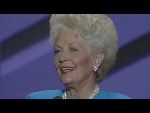 Texas Governor Ann Richards' 1988 DNC speech, kicks Ass!