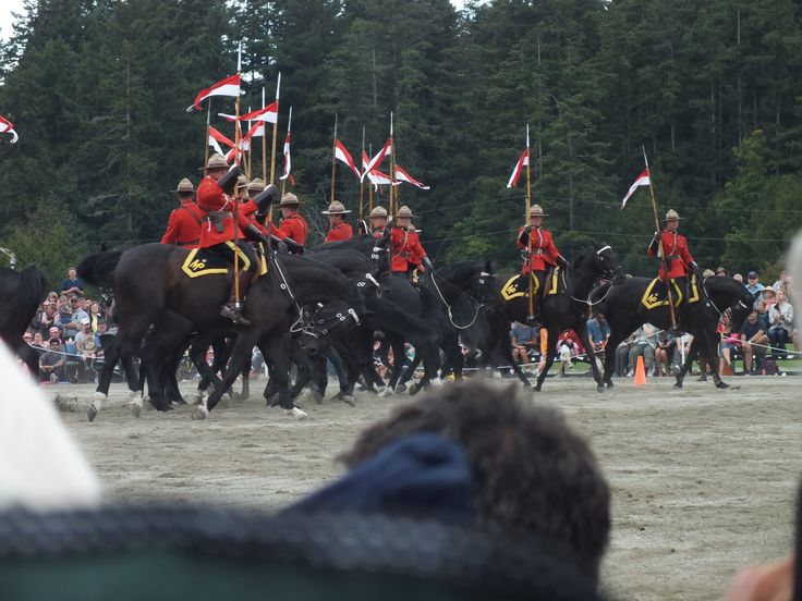 Musical ride in Victoria BC on Augh18, 2013