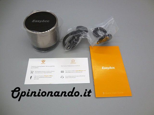 EasyAcc Mini 2 Altoparlante Portatile Bluetooth Kit #recensione #Opinionando