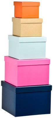 Boxes (a/w 2013) #lagerhaus #giftwrapping #storage