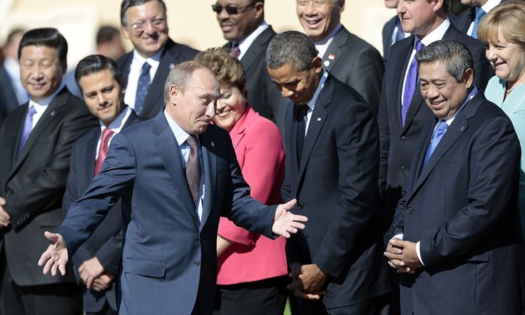 I'll help Syria if the U.S. attacks, says Putin in chilling threat to Obama as G20 summit breaks up in acrimony. Sept 2013