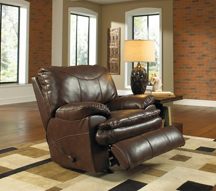 Small Sectional Sofa Just in time for fathers Day we have a plush recliner ready to order and be shipped directly to your home Check it out on Perez Chestnut