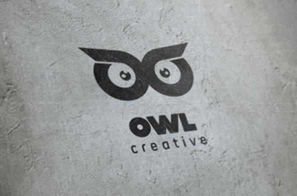 Owl Logo (Animals)