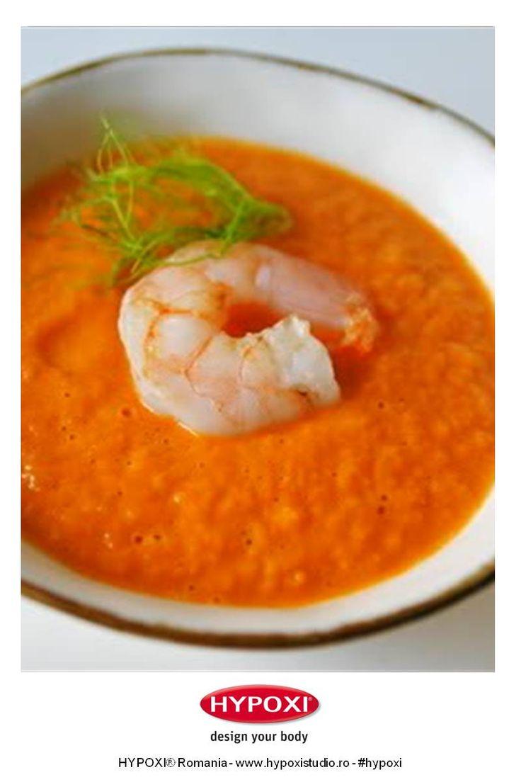 Chez Mazilique ne propune o minunata reteta de supa crema de creveti. Pofta Buna! #Hypoxi #HealthySkin #chezmazilique