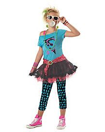 Kids 80s Valley Girl Costume