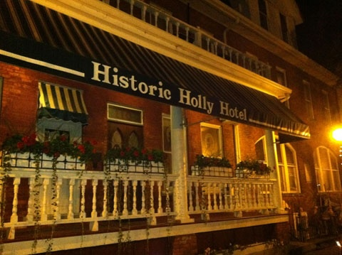 The Haunted Holly Hotel Michigan