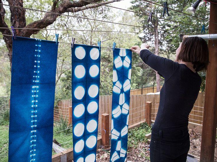 561 best batik diy shibori techniques images on pinterest shibori techniques tie dye and. Black Bedroom Furniture Sets. Home Design Ideas