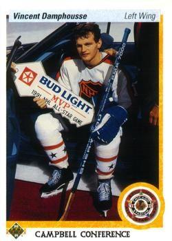 1990-91 Upper Deck #484 Vincent Damphousse Front