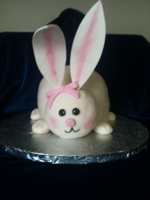 1000 Images About Fondant Rabbit On Pinterest Fondant
