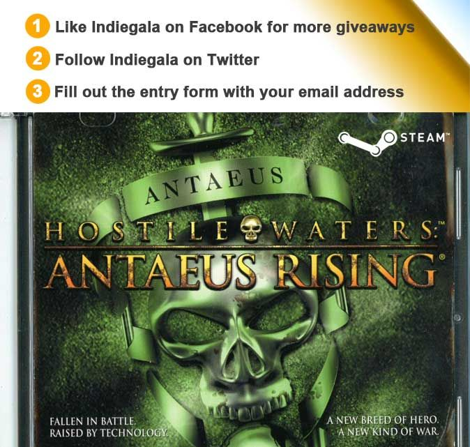 SURPRISE GIVEAWAY! 1000 Steam keys for Hostile Waters: Antaeus Rising