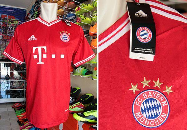 Jersey Bayern Munchen Home Grade Ori Rp 90.000