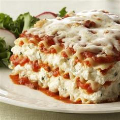 Family Favorite EASY Lasagna Recipe THIS! Is what I want my lasagne to look like! With those great ricotta layersALSO!! Use the Chicken Pox Recipe at end of page! Easy and Great!
