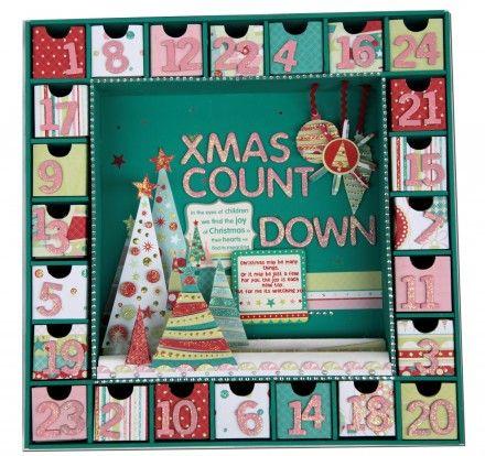 Advent Calendar Craft-Along: Ideas - Cook Clean Craft