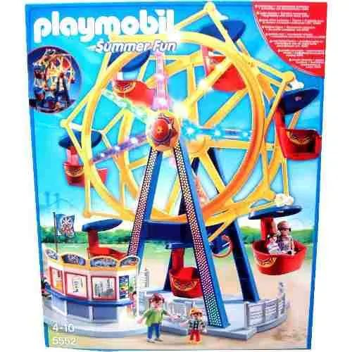 Playmobil 5552 Rueda De La Fortuna C Luces - $ 3.799,99