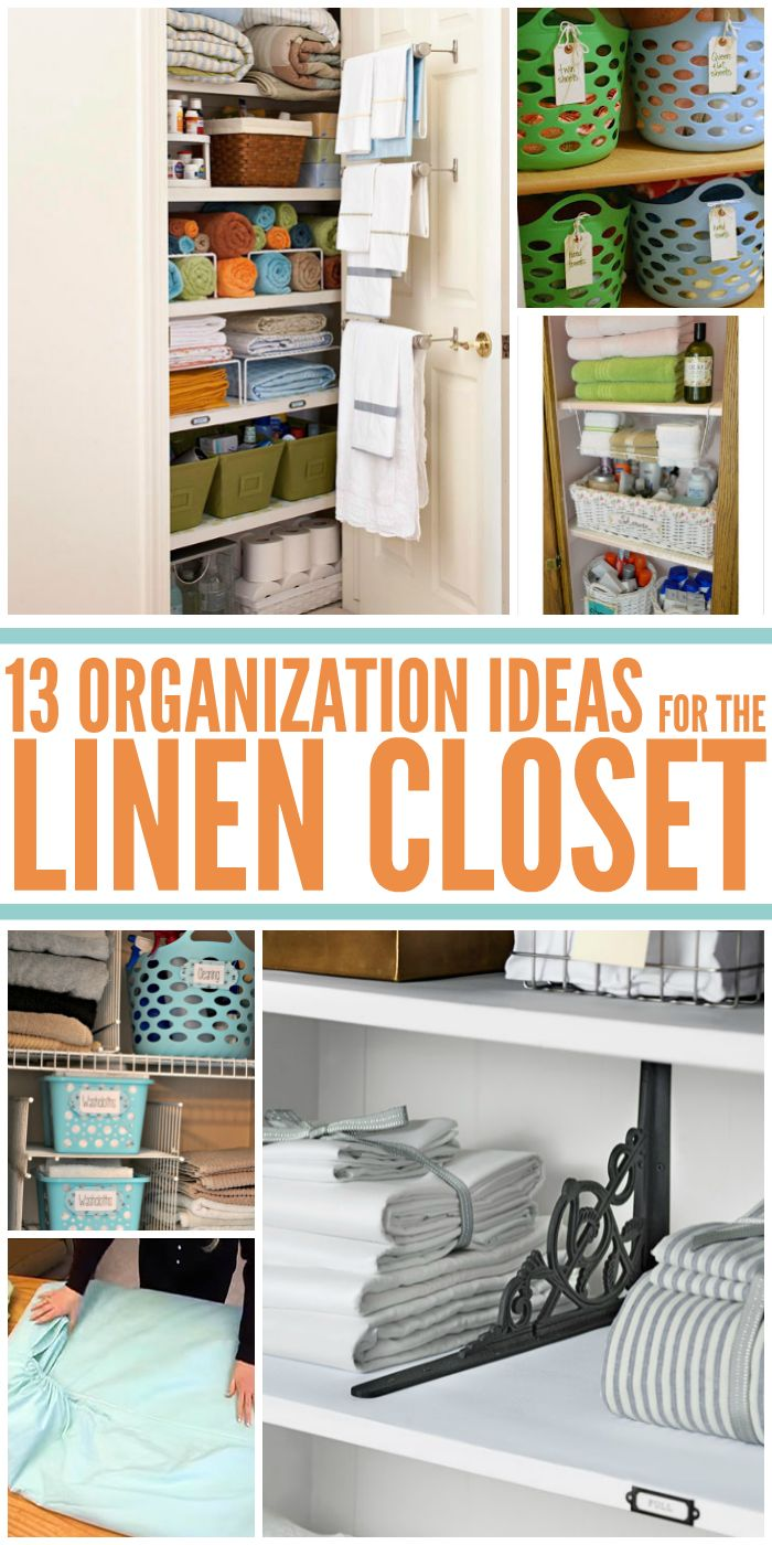 13 Brilliantly Clever Linen Closet Organization Ideas You Need to Implement ASAP