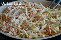 God mad og søde sager: Coleslaw med æble - perfekt til Pulled pork