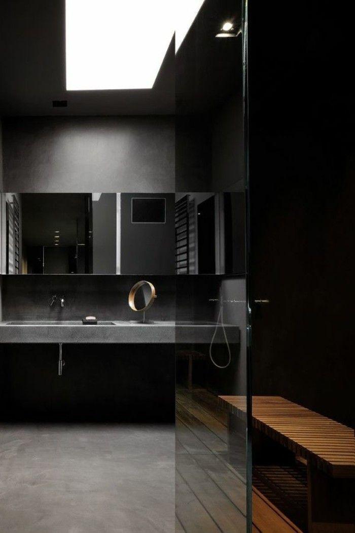 1000 id es sur le th me salle de bain en b ton sur pinterest salle de bains vier en b ton et for Beton cire salle de bain sur faience 2