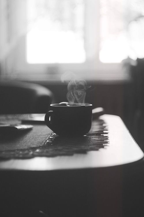 killianandco: The comforting smell of the day...