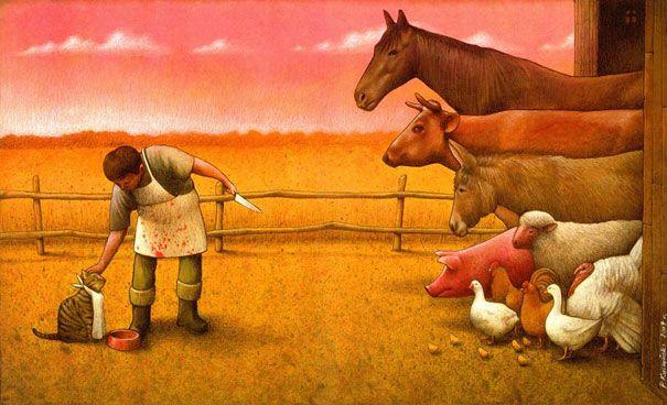 Pawel Kuczynski e suas ilustrações recheadas de sátiras sociais e políticas