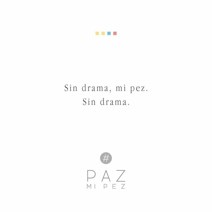 Sin drama