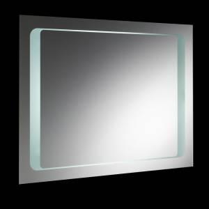 Insight vierkante spiegel met verlichting, vergroot glas en bewegingssensor