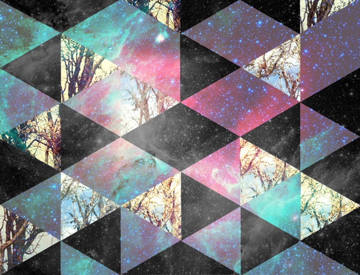 geometric galaxy wallpaper - photo #10