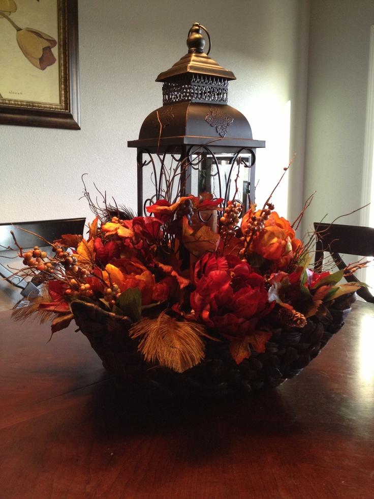 Fall centerpiece :)