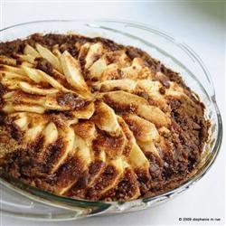 Ukrainian Apple Cake (Yabluchnyk)