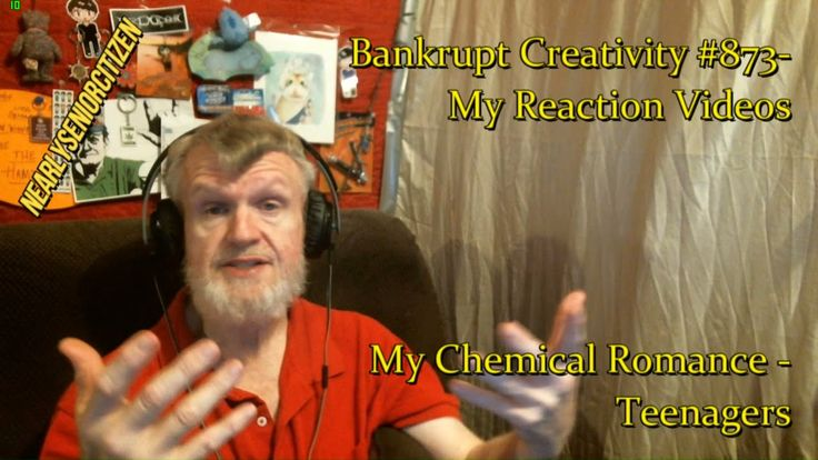 My Chemical Romance - Teenagers : Bankrupt Creativity #873- My Reaction ...