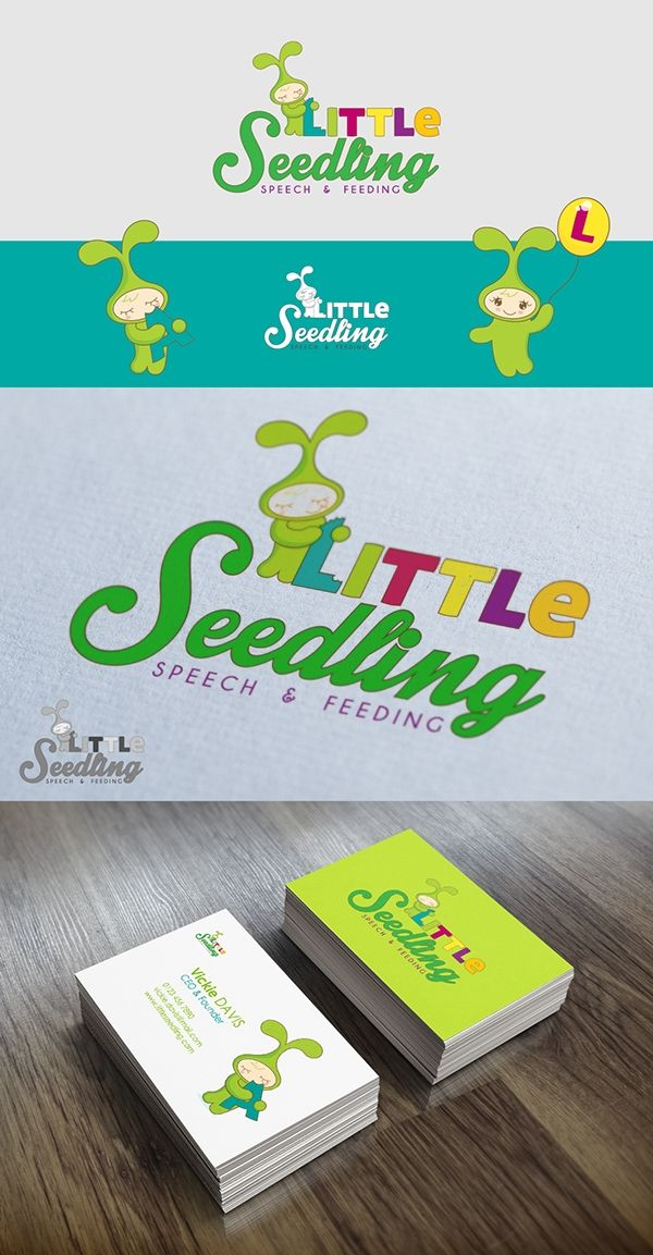 Little seedling logo proposal on Behance