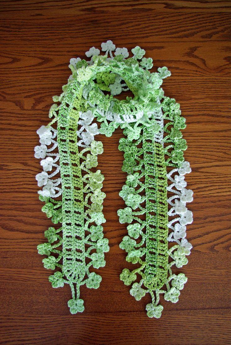 150 best BUFANDAS images on Pinterest | Scarfs, Crochet patterns and ...