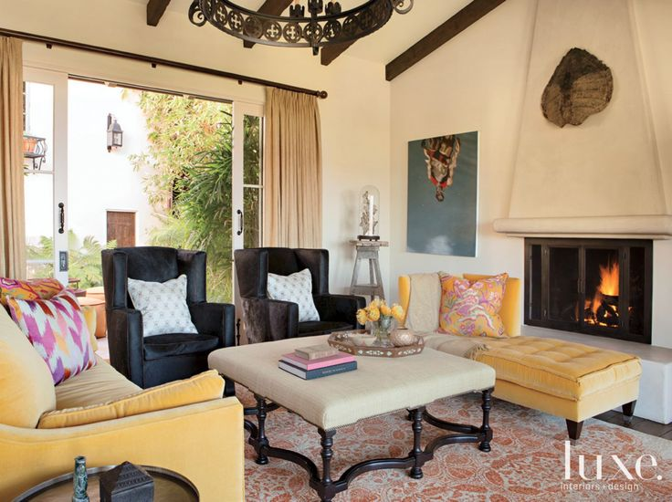 348 Best Spanish Colonial Interiors Images On Pinterest
