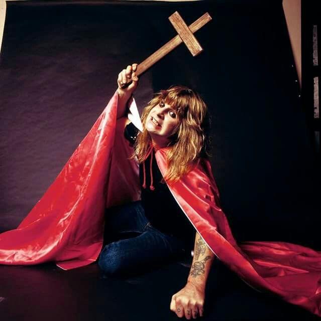 Ozzy Osbourne.........