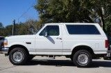OJ Special 1993 All White Ford Bronco - Gloves Sold Seperatly*