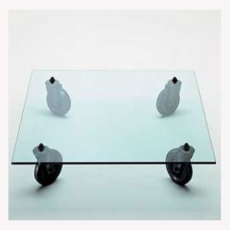 Gae Aulenti Tavolo Con Ruote Table (Kerekes asztalka)