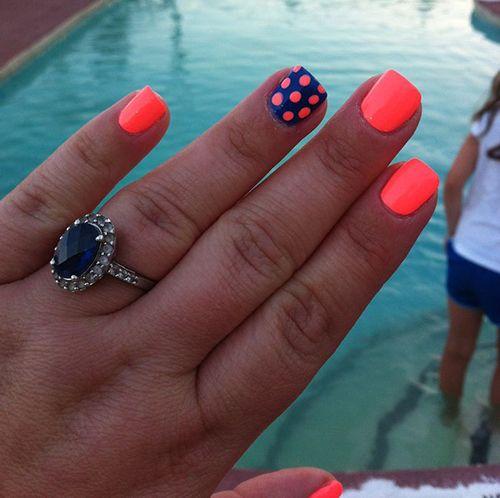 So cute!22 Beautiful Summer Nail Designs