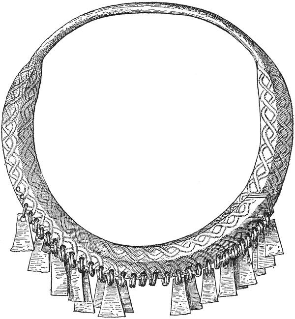 "This is a distinctly Latgallian/latgaļu Late Iron Age type of torc, which makes it Baltic, not Viking or Norse. These are most commonly found in Latvia. If you see them offered for sale anywhere, they are looted from ancient graves. Just say ""No!"" to authentic so-called Viking artifacts."