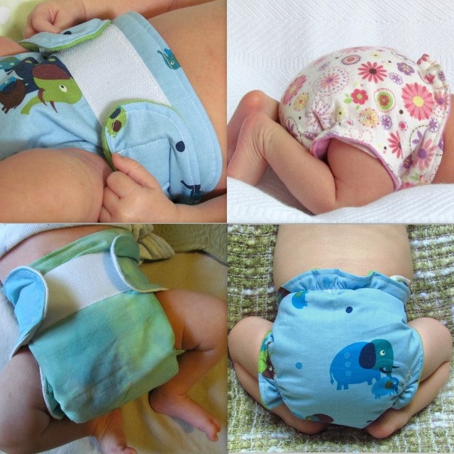 Easy fitted cloth diaper sewing tutorial by adirondackpatterns