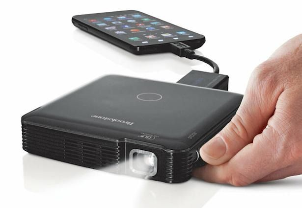 A projector to connect to my phone or tablet- sick!