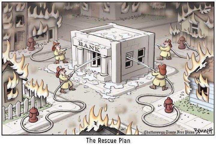 Το σχέδιο διάσωσης σε εικόνα