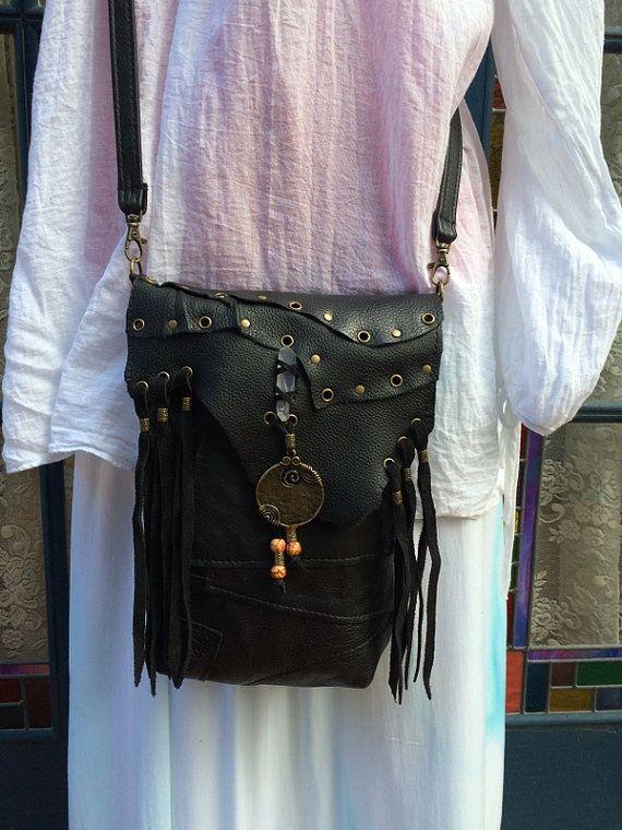 Hippie Gypsy Love Peace Recycled Patchwork by HippieGypsybyCherie